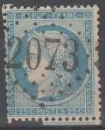 France N° Cérès GC 2073 Longeau Haute-Marne (V2) - 1849-1876: Klassik