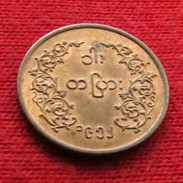 Myanmar  1 Pya 1952 Burma - Myanmar