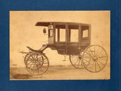 Photo Of A Horse-drawn Carriage. Caleche, Kutsche Dilegense Koets - Anciennes (Av. 1900)
