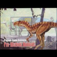 PAPUA NEW GUINEA 2004 - Scott# 1112 S/S Dinosaur MNH - Papoea-Nieuw-Guinea