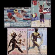 PAPUA NEW GUINEA 2004 - Scott# 1132-5 Olympics Set Of 4 MNH - Papua New Guinea