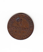 FRANCE KM 826.1, 1 Ct, 1872 A .   (DP162) - A. 1 Centime