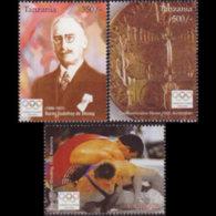 TANZANIA 2005 - Scott# 2361-3 Olympics 350-500s MNH - Tanzania (1964-...)