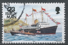 Isle Of Man 1993. Scott #546 (U) Ship, HMY Britannia * - Man (Ile De)