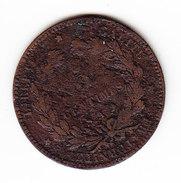 FRANCE KM 821.1, 1891 A, 5 Cts. (5BP17) - France