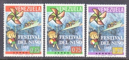 VENEZUELA  C 973-5    **  CHILDREN'S  FESTIVAL - Venezuela