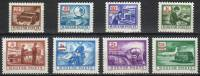 Hungary 1973. Colour Porto / Postage Due Set MNH (**) Michel: 242-249 - Portomarken