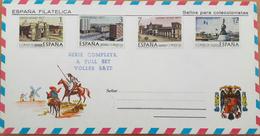 ESPANA FILATELICA / SPAIN - Sellos Para Coleccionistas - Serie Completa Conmemorativa / Full Set - HISPANIDAD 1977 - Souvenirbögen