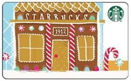 China Starbucks 2016 Gingerbread Pike Place SVC Gift Card - China