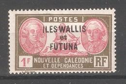 Wallis & Futuna 1930,Overprinted ,1fr ,Sc 67,VF Mint Hinged*OG (K-8) - Wallis And Futuna
