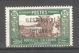 Wallis & Futuna 1938,Overprinted ,85c ,Scott # 64,VF-XF Mint Lightly Hinged*OG (K-8) - Unused Stamps