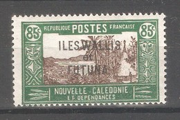 Wallis & Futuna 1938,Overprinted ,85c ,Scott # 64,VF-XF MNH**OG (K-8) - Neufs