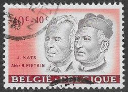 Belgium SG1772 1961 Cultural Funds 40c+1c Good/fine Used [33/28645/6D] - Belgium