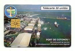 TELECARTE  BENIN *30 Unités Port De Cotonou - Bénin