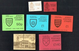 Group Of 7 Booklets From The 1970s - Under Face - Jersey
