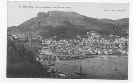 MONACO - N° 1625 - LA CONDAMINE ET LA TETE DE CHIEN - CPA NON VOYAGEE - La Condamine