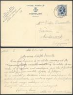 AL024 Entier De Sugny à Morlanwelz 1935 - Entiers Postaux