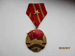 BEAUTIFUL MEDAL ORDER CHINA USSR RUSSIA  , 0 - Medals
