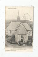 Cp , 14 , L'abside De L'église De MANNEVILLE LA PIPARD , Voyagée 1905 - Autres Communes