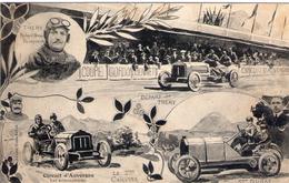 Circuit D'Auvergne - Coupe Gordon Bennett - éliminatoires - PILOTES - 1 THERY - 2 CAILLOIS, - 3 DURAY - BE - Clermont Ferrand