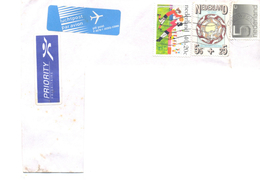 1998. Netherlands, The Letter Sent By Ordinary Post To Moldova - Period 1980-... (Beatrix)