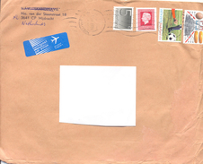 2000. Netherlands, The Letter Sent By Ordinary Post To Moldova - Period 1980-... (Beatrix)