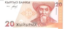 KIRGHIZISTAN   20 Som   ND (1994)   P. 10a1.   UNC - Kirghizistan