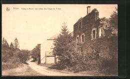 CPA Arlon, Habay-la-Neuve, Les Ruines Des Forges Du Prince - Habay