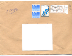 2001. Netherlands, The Letter Sent By Ordinary Post To Moldova - Period 1980-... (Beatrix)
