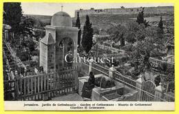 CPA ISRAEL JERUSALEM Jardin De GETHSEMANIE ( Moines ) - Israel
