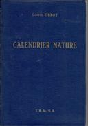 Calendrier Nature Par Louis Debot (édité Par L'Institut Des Sciences Naturelles De Belgique), 1960 - Nature