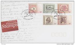 Australia-2009  Auatralia Post 200 Years Favourite Stamps  FDC - FDC