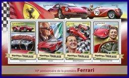 TOGO 2017 ** Ferrari Michael Schumacher M/S - OFFICIAL ISSUE - DH1712 - Cars