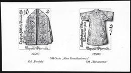 Austria/Autriche: Prova Per La Stampa, Proof For Printing, épreuve Pour L'impression, Artigianato, Artisanat, Crafts - Tessili