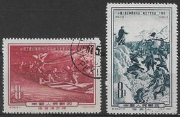 CHINE 1955 - Timbres N°1060 & N°1061 - Oblitérés - Used Stamps