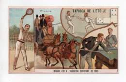 Chromo - Tapioca De L'étoile - France - Chromos