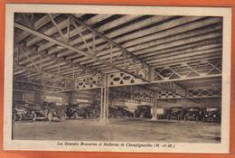 Carte Postale 54. Champigneulles  Les Grandes Brasseries Et Malteries  Trés Beau Plan - Frankreich