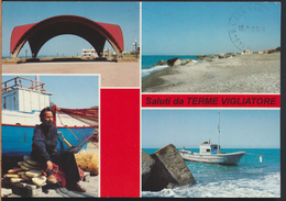 °°° 2512 - SALUTI DA TERME VIGLIATORE - VEDUTE (ME) 1996 °°° - Italia