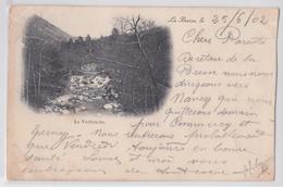 LA BRESSE - La Verbruche - Pionnière Nuage Circulée Timbrée à Remiremont En 1902 - France