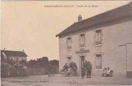 BOURGUIGNON LA CHARITE CAFE DE LA GARE Haute Saône 70 - Autres Communes