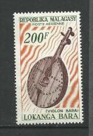 "Madagascar Aerien YT 97 (PA) "" Violon Bara "" 1965 Neuf** - Madagascar (1960-...)"