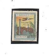 VIGNETTE CREUSOT AVIATION 1911
