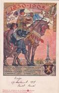Royaume De Belgique - Fêtes Jubilaires - Grand Cortège Historique Et Allégorique à Bruxelles - 1905 - Croix Rouge - Croix-Rouge