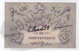Souvenir De PONT-FAVERGER (51) - Unclassified