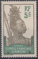 N° 36 - X X - ( C 168 ) - Gabon (1886-1936)