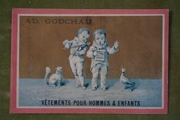 Ad Godchau - Série Pierrot - Musique, Chant Et Violon - Fond Or - Imp. Testu Et Massin Vers 1880 - Altri