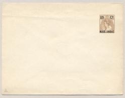Nederlands Indië - 1903 - 15 Cent Opdruk Op 15 Cent Bontkraag, Envelop G20, Ongebruikt / Unused - Nederlands-Indië