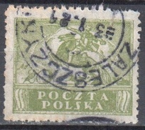 Poland 1919 -   General Issue - Mi. 117 - Used - Gebraucht