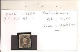 Chili - Num 12 1867 - Chile