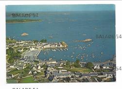 CPM - LOGUIVY-de-la-MER (22) Le Port (belle Vue Aérienne) - Other Municipalities